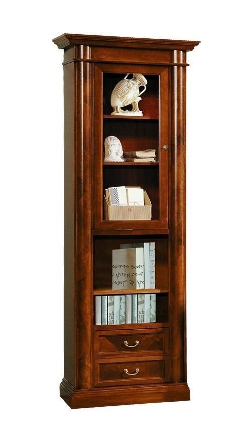 Шкафы - книжные шкафы - шкаф книжный ferro raffaello f-10 - .